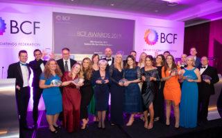 BCF Awards winners 2019