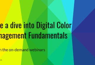 Datacolor digital color management fundamentals webinar series
