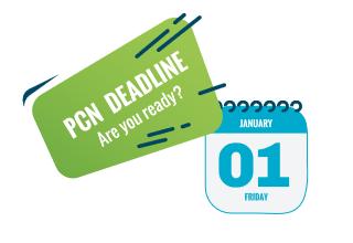 PCN Deadline